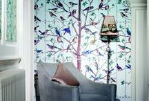 Charismatic & Stylish -  Cole & Son / Inspire yourself you the magnificence of rich colours and stunning designs. Breathe life into your walls with Cole & Son Wallcoverings.