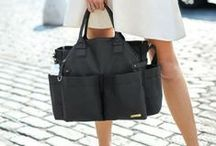 Chic Diaper Bags / Diaper bags are the must have baby gear item on every mom's list! Find out our fashion forward finds!