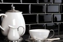 Magnificent Metro Tiles! / We love Metro tiles. All sizes, all shades, bevelled or flat, classical or contemporary. So much choice.
