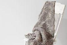 + h o m e knitting // crochet