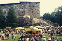 Raseborg Castle Ruins / The castle of Raseborg was founded in 1374. Midsummer festivities, old-time markets, guided dramatized tours, concerts and theatrical performances are organized at the ruins during summer. There is also a full service restaurant and cafeteria.