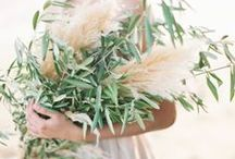 Foliage Love / Showing different foliages in bridal bouquets.
