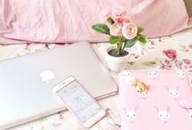 Cozy and girly things <3