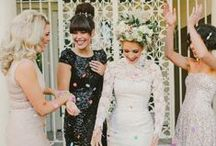 Chic Bridal Style / Ideas for a Chic Bridal Style. Florals, dresses and acessories that I adore.