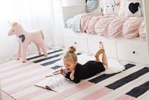 Kids Room / Home decor ideas for a child's bedroom!