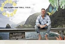 The Hawaiian Trail 1959 / Summer 2013, an impression of Elderman's Hawaiian trail we follow.