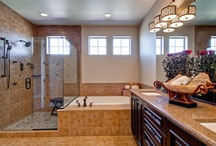 Master Bathrooms by Oakwood Homes / Pin & share YOUR favorite master bathrooms! Colorado's largest privately held home builder. Reach us at (303) 486-8570