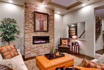 Fireplaces by Oakwood Homes / Cozy up next to any of these great fireplaces