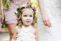 Children in Weddings / Photos of adorable little ones in Weddings.