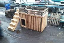 Pallet projects / by Sheri Woodall