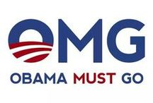 OMG!! OBAMA MUST GO!  / by Sheri Woodall