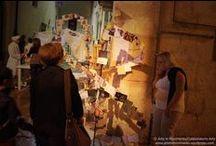 """Arte in Movimento - Altamura, Italia / El proyecto """"Arte in Movimento"""" organizado por el grupo Colaboratorio Arte se presentó en la """"Notte Bianca - Notte dei Claustri"""" (2012) de la ciudad de Altamura (it)."""