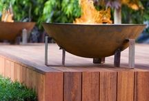 Accessories for the garden / Garden lighting, firepits and beautiful objects for the garden