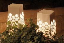Garden Lighting / Outdoor lighting makes a garden useable 24/7 365 days a year