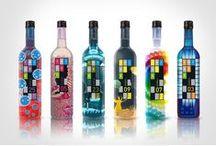 Botellas + / botellas,recipientes,envases,packs / by Dario Vega