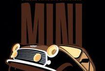 MINI + / Austin Mini Cooper / by Dario Vega