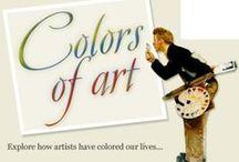 Malerier og farver