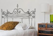 design bedroom / beds, table beds, wardrobe, lights, duvet cover, bed linen....