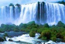 nature / big  water falls & sound