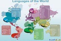 Languages/Idiomas / Informaciones sobre las idiomas en general