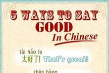 Chinese/中国的
