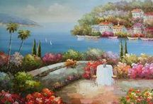 Landscape Oil Paintings,Purchase original painting,Buy hand painted oil painting on canvas / Landscape Oil Paintings,Original oil painting on canvas. Our site:http://www.oil-painting-china.com Our mail: info@oil-painting-china.com