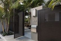 exterior/outdoor living / inspiration and ideas for outdoor living