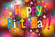 Birthdays Wishes / Social Media Birthday Cards.