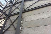 Placa Alveolar Muro / Hollow Core Walls / Muros prefabricados pretensados VIPROCOSA con Placa Alveolar PALM