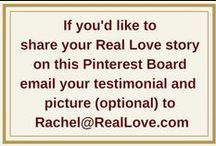 Testimonials / Real Love® is changing the world! It is so fun to see Real Love® in action and to support each other on this amazing journey. This board is a great way to share pictures and stories about how Real Love® is changing your life. We'll be posting inspiring testimonials we've received and if you'd like us to share your Real Love® story on this board, email your testimonial and a picture (optional) to Rachel {at} RealLove {dot} com. Share, like, support and comment away!