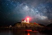 Lovely Lighthouses / We love lighthouses! Here are some of our favorites, both in coastal Maine and around the world (hint: we're partial to the Nubble).
