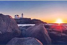 The Nubble Lighthouse / Have you followed us on Instagram? If you have, you're probably familiar with our #nubblethursday feature! Tag your best Instagram shots of the Nubble Lighthouse for a chance to be featured!
