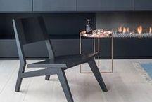 black furnitures / design, icon, vintage, modern ...