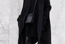 *A/W OUTFIT INSPIRATION / Autumn/Winter Outfit Inspiration, Layers, Scarves, hats, minimal fashion, winter clothes, layering