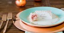 Mint Peach Wedding