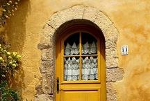 Exotic House Entrance