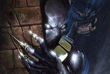 Black Panther / A collection of images celebrating Marvel's first Black superhero. / by D Real-Panther Son
