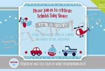 Personalised Baby Shower Invitations / We can create the perfect personalised photo invitation for your upcoming event. All invitations are 6x4 (15cmx10cm) and printed on gloss photo paper (can be printed matte or on card if required). Invitations start from only $15.00 for a 10 pack. Many more designs available. . .