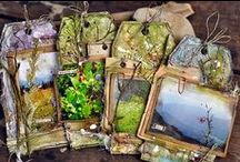 tags I love / beautiful craft and mixed media tags created by amazing artists