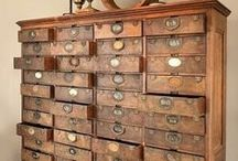 craft storage / rethinking organisation