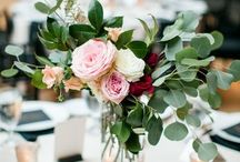 Table Decorations | Wedding Inspiration / Inspiration on how to decorate your wedding tables. DIY wedding tables | Wedding flowers | Venue styling | flower styling