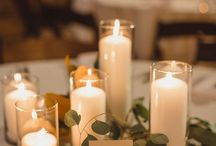 Candles | Wedding Inspiration / How you could use candles at your wedding. Venue styling | wedding flowers | DIY Wedding |