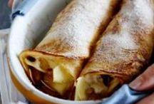 Pannenkoeken / Recepten met zoet (chocoladefudge!) of hartig beleg. Zeker weten dat je trek krijgt in pannenkoeken! Op janlinders.nl/pannenkoek vind je alles voor de pannenkoek.