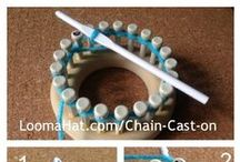 loom crochetting / If you have pictures, instructions, suggestions, all to share ,please do.