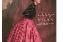 Vintage style fashion plate