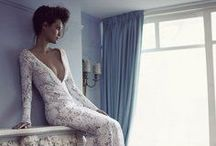 Wedding Dresses with Sleeves / I know the sleeveless wedding dress is the trend. But buck it! (Buck the trend, that is.) Sleeves are sexy, and so is eating with gusto.