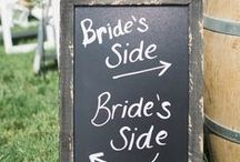 """Unique Wedding Ideas & Decorations / When I went to a celebrity wedding in the field across from our house over 10 years ago, I'd never seen such a rustically elegant display. The beer was on a bed of ice in the front-loader of a backhoe (her gift to the groom). But 10 years later, to keep rustic """"current, I am always on the lookout for wedding-decoration ideas with a little soupçon of surprise."""