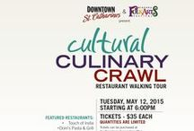 Events 2015 Downtown St. Catharines / Lots to do and see in Downtown St. Catharines www.mydowntown.ca