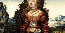 Fashion and landscape in.15th &16th century painting