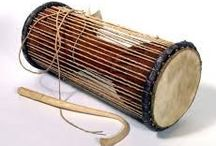 MUSICAL INSTRUMENTS / Music comes from all kinds of instruments . Some manufactured. Some handmade.but the sound comes from the heart and soul.